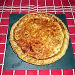 recette Tarte Oignons - Lardons