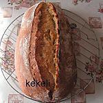 recette Le pain de campagne