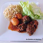 recette Tajine de viande hachée