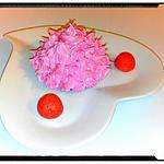 recette moelleux aux abricot et son coeur de fraise