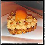 recette barre céréalière abricots-pistaches façon tartelette