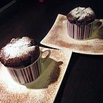 recette Soufflé au chocolat & noisette