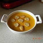 recette Velouté potiron pommes de terre