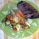 recette Magret de canard aux petits legumes