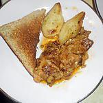 recette Tranche de foie gras poélé aux poires