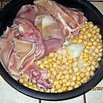 recette Potée de porc 1/2 sel et pois-chiches