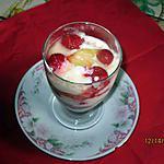 recette tiramisù d'ananas et framboises