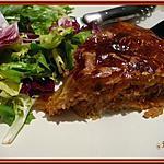 recette Tourte à la viande hachée et sauce tomate
