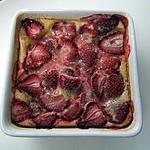 recette Clafoutis fraises-amande