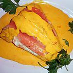 recette Filet de saumon sauce au safran