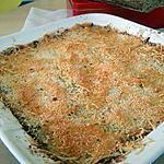 recette Crumble de poireaux à la saucisse de Morteau (ou montbéliard)