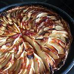 recette Tarte fine aux pommes toute bête (mais super bonne)