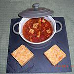 recette Filets de poulet sauce basquaise.