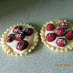 recette Tartelettes aux framboises