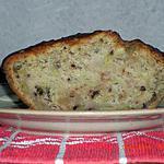 recette cake pommes - noix - noisettes