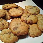 recette Cookies au chocolat au lait
