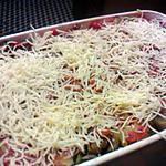 recette gratin de pâte à la ratatouille