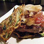 recette Hamburger aux galettes de légumes