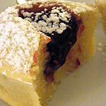 recette Moelleux amande au coeur de framboise