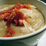 recette Soupe de Chou fleur au chorizo