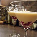 recette Crème vanille express aux framboises