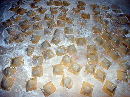 Ravioli au foie gras 430