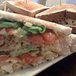 recette le véritable Club sandwich