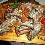 recette Carré d agneau en croute de sésame