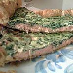 recette Tarte Saumon - Epinard à la ricotta