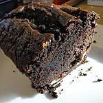 recette Gâteau  chocolat-raisins-bananes