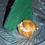 recette petits choux à la mousse de jambon blanc