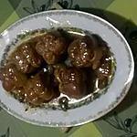 recette PAUPIETTES DE PORC