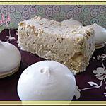 recette Nougat glacé thermomix
