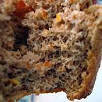 """recette Muffin """"pain d'épices"""" à l'orange sans matière grasse"""