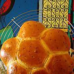 recette Khobz Dar - Pain à la semoule de blé dur et aux graines de nigelle  comme une brioche!