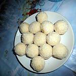 recette Truffe blanche a la noix coco