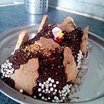 recette bûche fondante au chocolat
