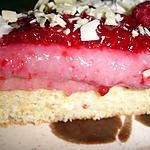 recette Bavarois aux cerises et au chocolat blanc