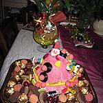 recette gateau bonbons  de noel fait par norah et  hanaé