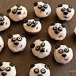 recette Mini panda muffins