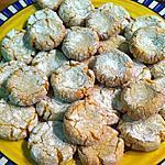 recette Petits gâteaux légers amande et citron... Souvenir du Maroc !