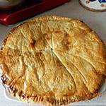 recette Galette des rois poires-choco amande