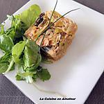 recette Fondue de poireaux et saumon