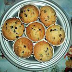 recette muffins au pepite de chocolat