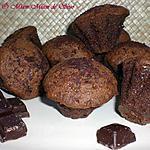 recette MUFFIN CHOCOLAT & REGLISSE COEUR CHOCO