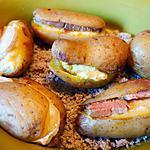 recette pommes de terre au four au foie gras