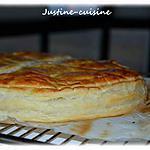 recette Galette des rois à la frangipane, Nutella et noisettes