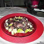 recette assiette  foies   confits