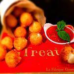 recette Beignets de Mozzarella Accompagnés de leur Marinara sauce