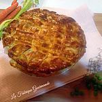 recette Chicken Pot Pie - Tourte au Poulet et aux Petits Légumes